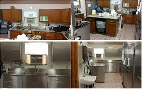Commercial Kitchen Cabinets Stainless Steel Custom Stainless Steel Kitchens
