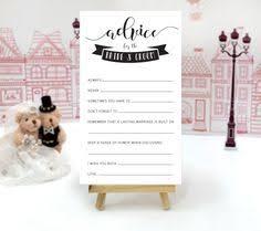 Advice To Bride And Groom Cards Wedding Advice Cards Funny Advice For The Bride And Groom Cards