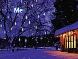 30cm 144 led meteor shower led light
