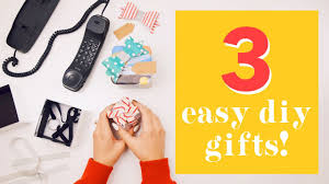 easy last minute diy gifts withwendy youtube