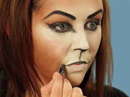 cat costume for halloween halloween makeup tutorial cat hgtv
