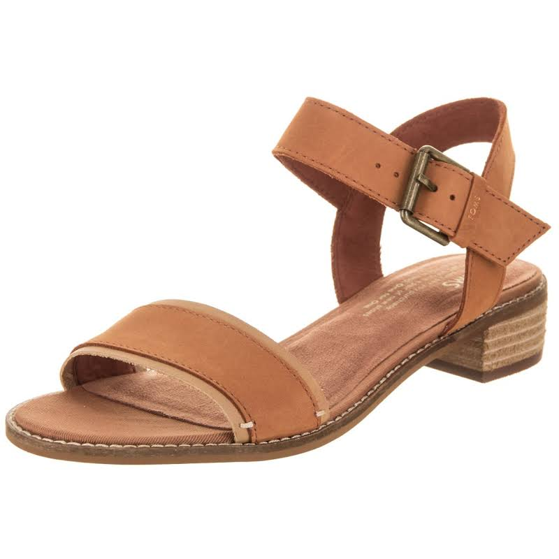 TOMS Camilia Heels Brown- Womens