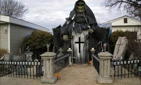 best yard decorations witch decorations