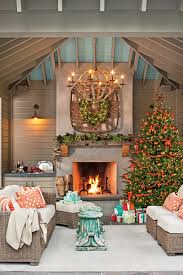 wrap around porch christmas decorating affordable christmas