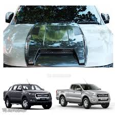 Ford Ranger Design Grey Hood Scoop Bonnet Cover For Wildtrak Ford Ranger Mk2 Px2 2015