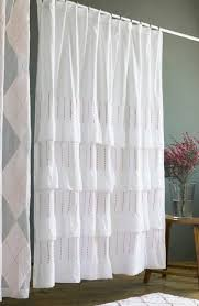 India Shower Curtain India Shop Pintuck Shower Curtain