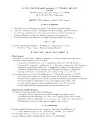 Acting Resume Special Skills Transferable Skills List For Resumes Resume Examples 2017