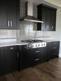 kitchen backsplash ideas black cabinets kitchen backsplash ideas for cabinets home design