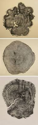 bryan nash gill s prints of woodcuts taken from real trees these