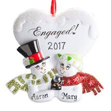 personalized wedding cake ornament kimball