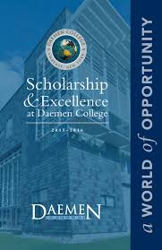 faculty scholarship and excellence brochure by daemen college issuu