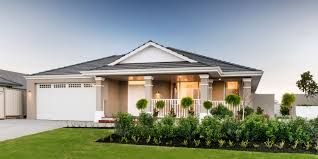 style home design the hton four bed single storey home design plunkett homes