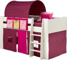 cabin beds for girls mid sleeper beds paddington cabin mid sleeper white u pink with