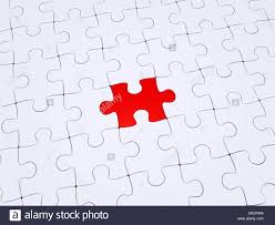 different piece of the puzzle stock photo royalty free image