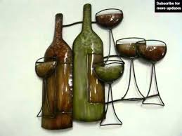 Wine Bottle Home Decor Wine Bottle Wall Art Diy Home Decor Picture Ideas Youtube