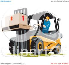 Forklift Operator Certification Card Template Clipart Forklift Operator Lifting A Container In A Factory