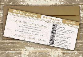 destination wedding invitation diy boarding pass destination wedding invitation 0294 the