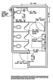 Ada Requirements For Bathrooms by Public Water Closet Dimensions Google Search Arch And
