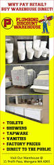 Bathrooms And Showers Direct by Plumbing Discount Warehouse Bathroom Renovations U0026 Designs 11