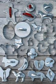 lot of vintage metal cookie cutters aluminum cookie cutters w