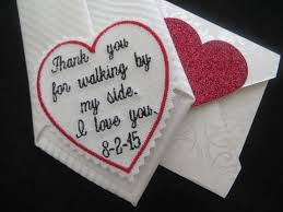 wedding gifts unique wedding tie patch that special day custom embroidered keepsake