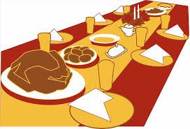 digital clip thanksgiving dinner clipart digital