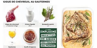 cuisiner le chevreuil facile gigue de chevreuil au sauternes simplissime recettes femme actuelle