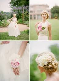 flower necklace wedding images 75 best wearable flowers images flower crowns hair jpg