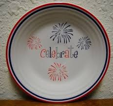 celebrate plate 109 best homer laughlin china celebrations images on