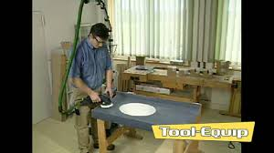 Corian Sanding Pads Festool Rotex Sander On Solid Surface Youtube