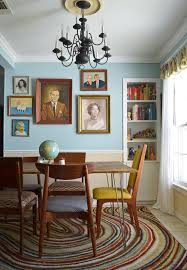 martha stewart rugs in dining room eclectic with dining room table