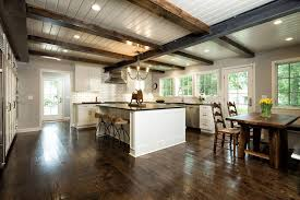 white kitchen cabinets with wood beams wall pot rack with white kitchen cabinets and backless bar