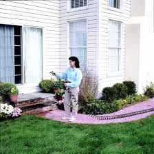 aquamate 3 8 in x 50 ft recoil garden hose with connector and