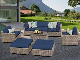 tk classics monterey 8 piece deep seating group with cushion