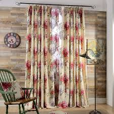 Country Curtains Country Curtains Room Darkening Floral Print