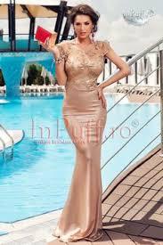 atmosphere rochii rochie lunga de seara broderie turquoise tul galben este o rochie
