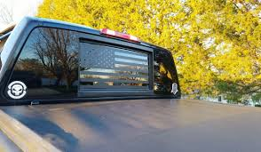 hunting truck decals american flag back window decal u0027murica u2013 stickit stickers