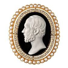 antique gold cameo necklace images How to value and date your vintage cameo jonathan 39 s diamond buyer jpg