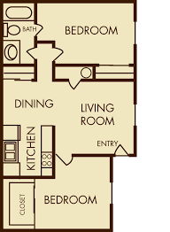 2 bedroom 1 bath floor plans salt lake city apartments floor plans mountain shadows