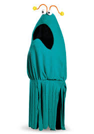 Sesame Street Halloween Costumes Adults Sesame Street Size Blue Yip Yip Costume