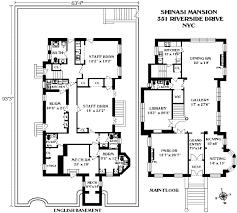brownstone floor plans new york city corcoran 351 riverside drive upper west side real estate