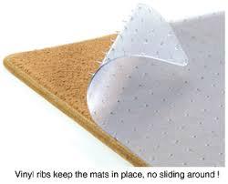 clear floor protector mats by lloyd