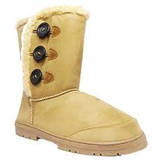 womens ugg style boots uk womens mid calf velcro ugg style boots chesn https
