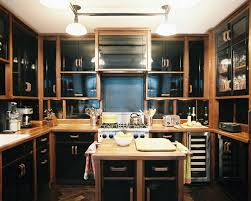 Black Kitchen Cabinets by Dark Wood Kitchen Cabinets