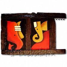 Housewarming Gifts India Buy Ganesa Key Holder A Gift For Housewarming Ceremony Online In