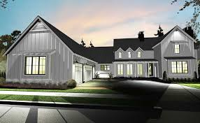 modern farmhouse house plans interior design home small floor style