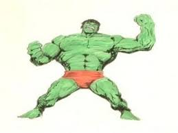 draw incredible hulk