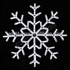 window hanging snowflake lights motif rope