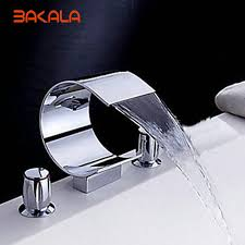Bathroom Waterfall Faucet by Online Buy Wholesale Wall Waterfall Faucet From China Wall