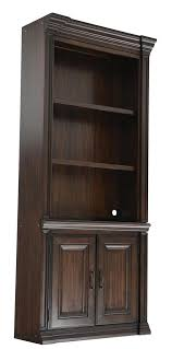 Wood Bookcase With Doors Weir S Furniture Furniture That Makes Home Weir S Furniture